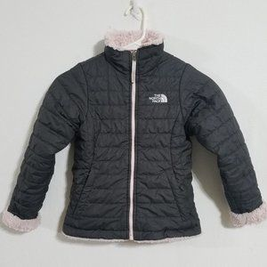 The North Face Girls Small Black Reversible Jacket